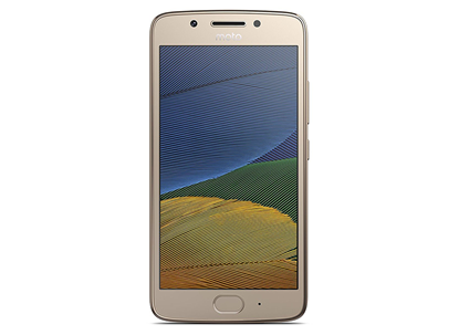Picture of MOTOROLA MOTO G5 DUAL SIM GOLD