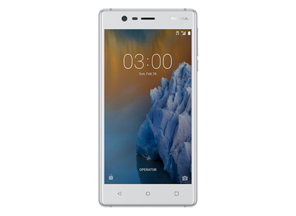 Picture of NOKIA 3 DUAL SIM SILVER