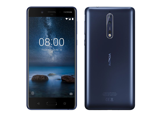 Picture of NOKIA 8 DUAL SIM Tempered Blue