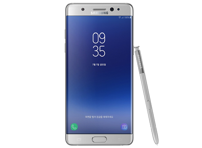Picture of SAMSUNG GALAXY NOTE FE LTE 64GB (Note Fan Edition) Silver