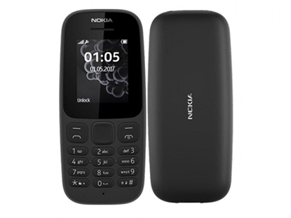 Picture of NOKIA 105 (2017) DS Black