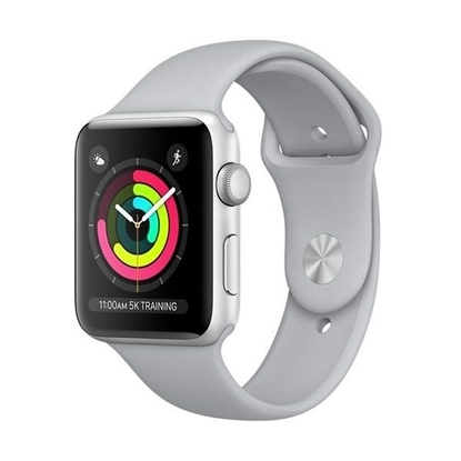 Picture of Apple Watch Series 3 GPS 42mm Silver Aluminum Case with Fog Sport Band