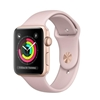 Picture of Apple Watch Series 3 GPS 38mm Gold Aluminum Case with Pink Sand Sport Band
