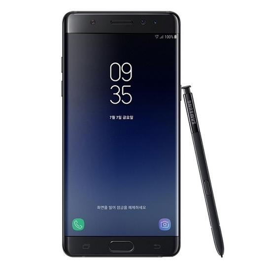 Picture of SAMSUNG GALAXY NOTE FE LTE 64GB (Note Fan Edition) Black