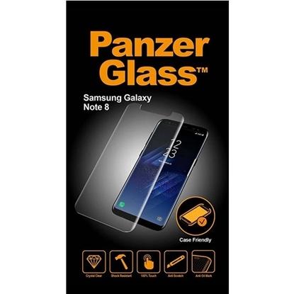 الصورة: بانزر جلاس ، حماية شاشة  زجاجية ،متوافق مع الاغطية لأجهزة سامسونج جالكسي Note 8