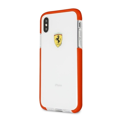Picture of Ferrari Shockproof Hard Case For iPhoen X- Red