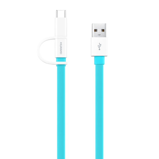 Picture of Huawei , AP55S 2-IN-1 USB Type-C + Micro USB - 1.5M - Blue