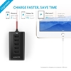 Picture of Anker , PowerDrive , 5  Ports Car Charger - Black