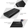 Picture of RAVPower, Power Bank 20,100 mAh with QC 3.0 Input & Output Type C - Black