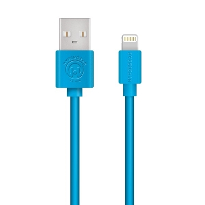 Picture of HyperGear , MFi Lightning 4ft. Charge & Sync Cable - Blue