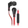 Picture of Naztech , NoiseHush NX80 Stereo 3.5mm Headset with Mic - Red / Balck