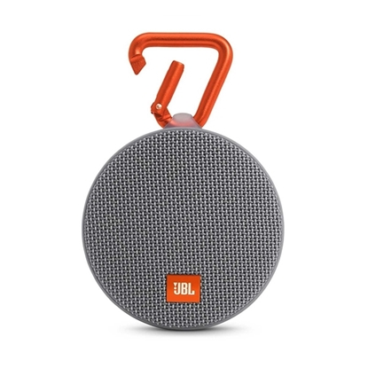 Picture of JBL Clip 2 Waterproof Portable Bluetooth Speaker - Gray