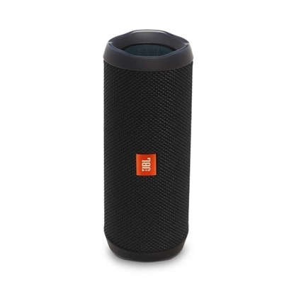 Picture of JBL Flip 4 Waterproof Portable Bluetooth Speaker - Black