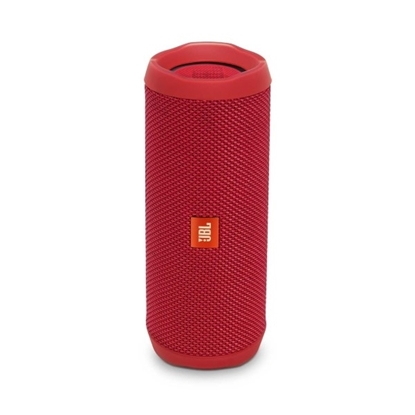Picture of JBL Flip 4 Waterproof Portable Bluetooth Speaker - Red