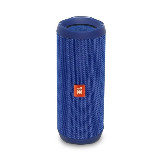 Picture of JBL Flip 4 Waterproof Portable Bluetooth Speaker - Blue