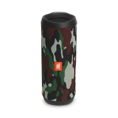 Picture of JBL Flip 4 Waterproof Portable Bluetooth Speaker - Squad