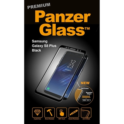 Picture of PanzerGlass Case Friendly For Samsung S8 Plus - Black