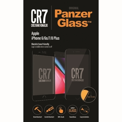 Picture of PanzerGlass , CR7 BrandGlass™ Screen Glass Protector for Apple IPhone 6/6s/7/8 Plus - Black