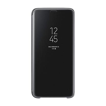 الصورة: سامسونج ، حافظة ذكية ، ستاند ، رؤية واضحة لأجهزة سامسونج S9 - اسود