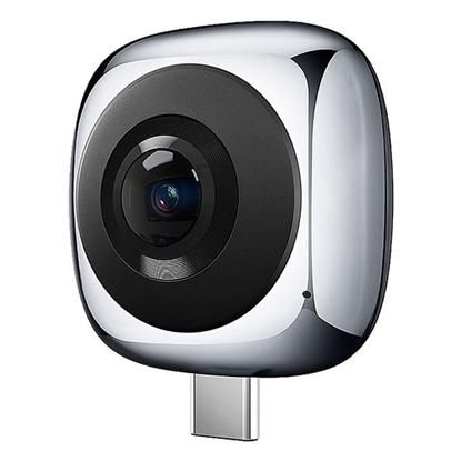 الصورة: هواواي ، انفزيون كاميرا 360 بانوراميه لتصوير الواقع الافتراضي - رمادي
