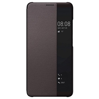 Picture of Huawei Mate 10 - Flip Case Smart View Cover - Brown