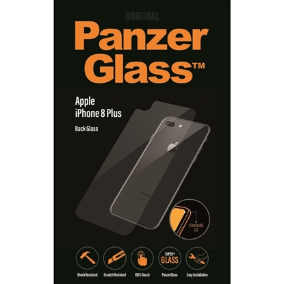 Picture of Panzer Glass Back Glass Protector For iPhone 8Plus  - Clear