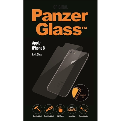 Picture of PanzerGlass Back Glass Protector For iPhone 8- Clear