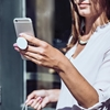 Picture of PopSockets Collapsible Grip & Stand for Phones and Tablets - Black