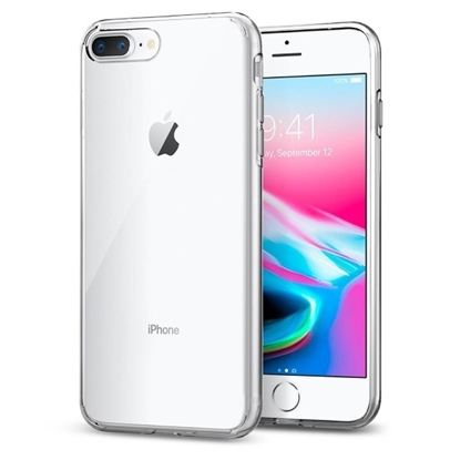 Picture of Spigen Liquid Crystal Case for iPhone 8 Plus - Clear