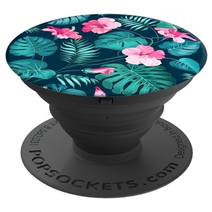 Picture of PopSockets Collapsible Grip & Stand for Phones and Tablets - Hibiscus