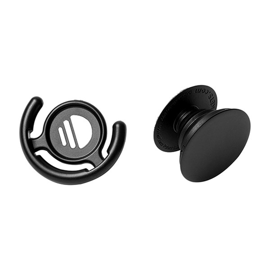 Picture of PopSockets Stand for Smartphones & Tablets - Black and Mount