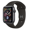 Picture of Apple Watch Series 4 GPS, 40mm Aluminium Case with Black Sport Band - Space Grey