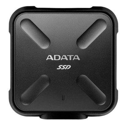 Picture of ADATA SD700 256 GB Shockproof and Waterproof Durable External SSD - Black