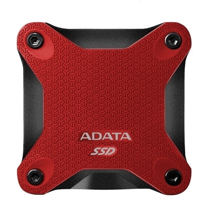 Picture of ADATA SD600 256 GB  Shockproof External SSD - Red