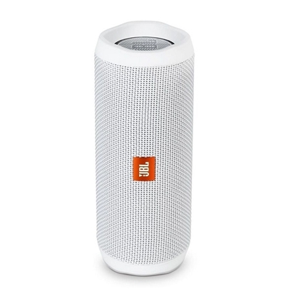 Picture of JBL Flip 4 Waterproof Portable Bluetooth Speaker - White