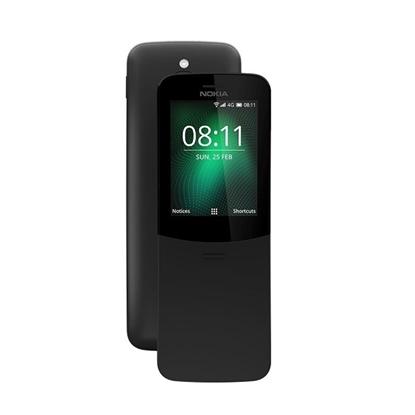 Picture of Nokia 8110 Banana 4G Dual Sim - Black