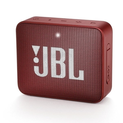 Picture of JBL GO 2 Portable Bluetooth Speaker - Red