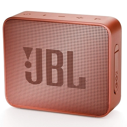 Picture of JBL GO 2 Portable Bluetooth Speaker - Cinnamon