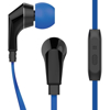 Picture of Naztech , NoiseHush NX80 Stereo 3.5mm Headset with Mic - Blue / Black