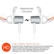 Picture of HyperGear , MagBuds Wireless Earphones - Silver