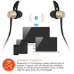 Picture of HyperGear , MagBuds Wireless Earphones - Gold