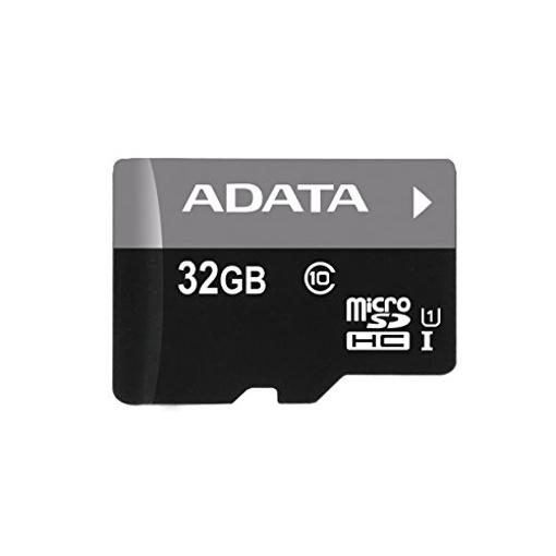 صورة اداتا ، بطاقة ذاكرة مايكرو  SDHC/SDXC UHS-I U1 بسعة 32GB الفئة 10 مع محول