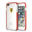 Picture of Ferrari Hard Case Racing Shield Transparent iPhone 7 / 8 Plus - Red
