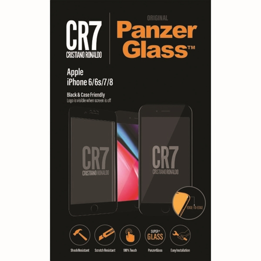 Picture of PanzerGlass , CR7 BrandGlass™ Screen Glass Protector for Apple IPhone 6/6s/7/8 - Black