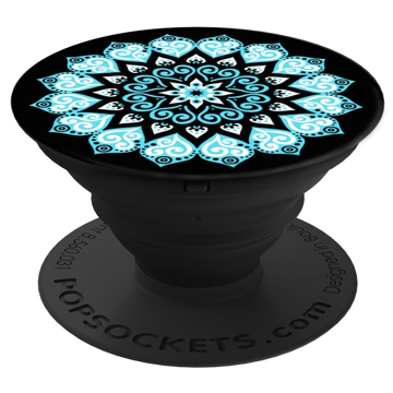 Picture of PopSockets Collapsible Grip & Stand for Phones and Tablets - Peace Mandala Sky