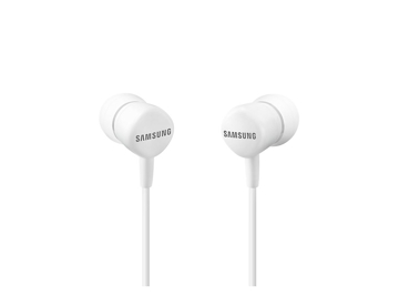 Picture of Samsung Wired Headset High Definition Ear Buds With Mic HS1303 -  White