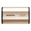 صورة اداتا ، SE730H هاردسك خارجي SSD بمدخل Type-C بسعة 256 GB مقاوام للماء و الصدمات - ذهبي