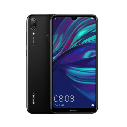 Huawei Y7 Prime 2019 Dual 4G 64GB - Midnight Black