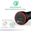 Picture of Anker PowerDrive + , 1 Port 24W Car Charger QC3.0 With 3ft Micro Cable - Black