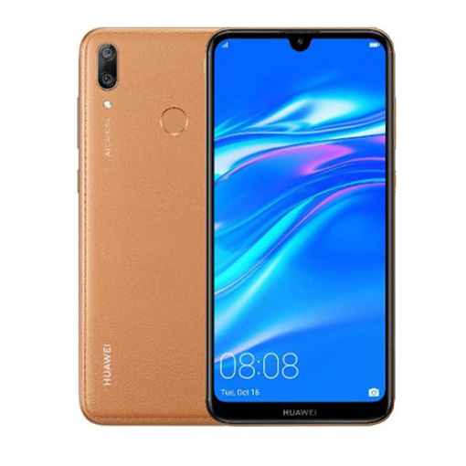 Picture of Huawei Y7 Prime 2019 Dual 4G 64GB - Amber Brown